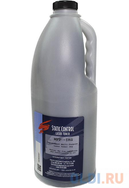 Тонер Static Control MPT9-1KG черный флакон 1000гр. для принтера тонер static control trhm102 1kg os черный флакон 1000гр для принтера hp lj m104 m132
