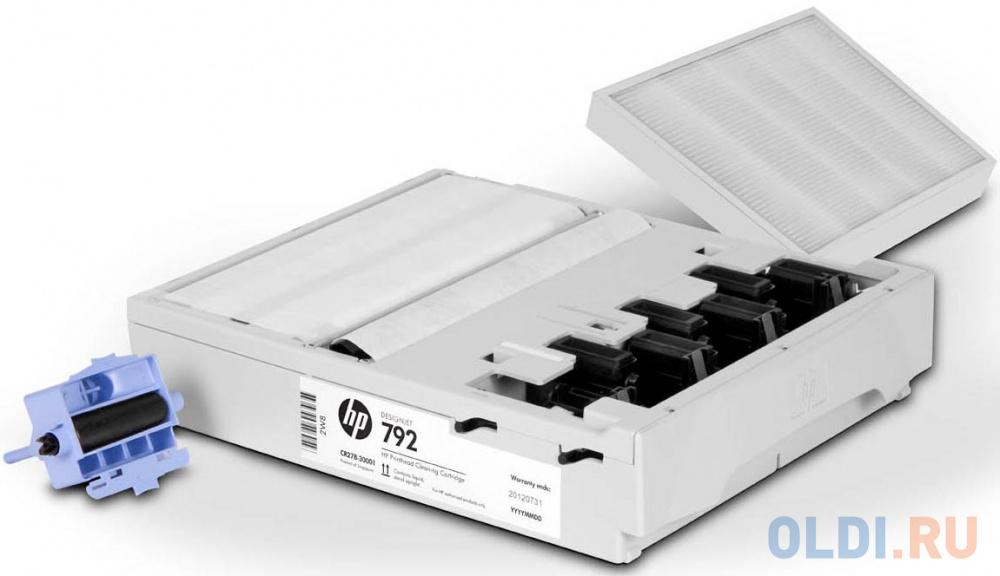 Комплект для очистки печатающей головки HP CR278A №792 комплект замены печатающей головки hp 729 f9j81a