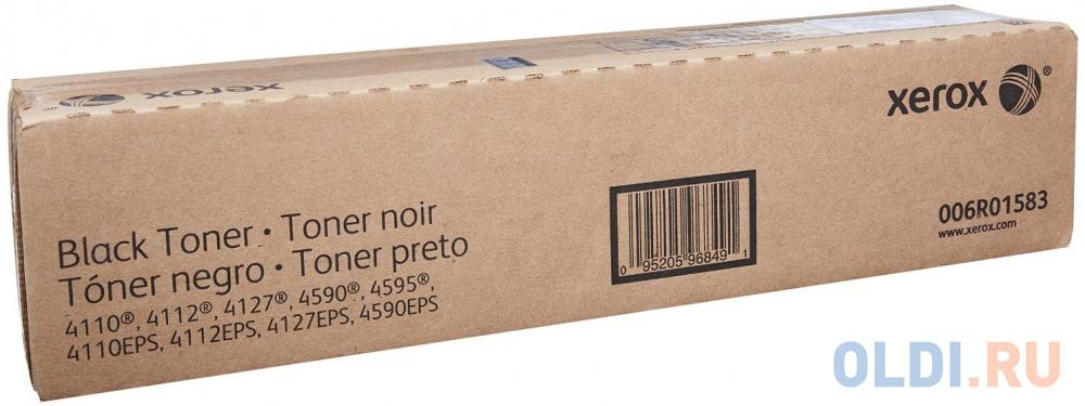 Тонер-картридж Xerox 006R01583 для WCP 4110/4112/4595 черный