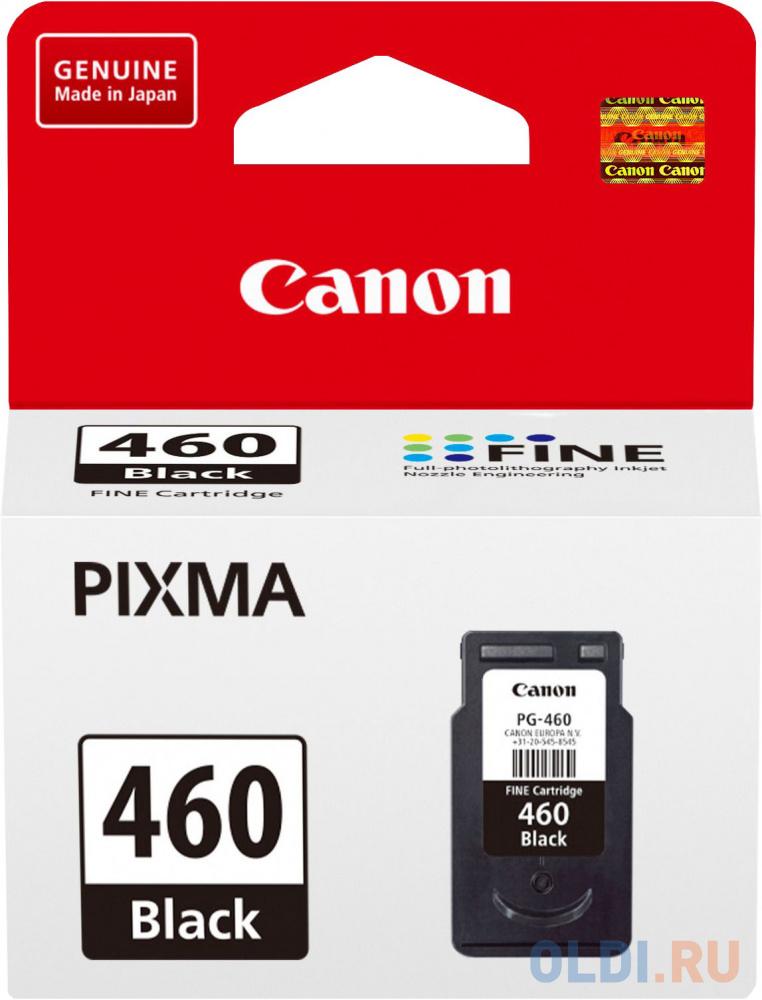 Картридж Canon PG-460 для Canon PIXMA MG5740 PIXMA MG6840 PIXMA MG7740 180стр Черный 3711C001 картридж струйный canon cli 471y 0403c001 желтый для canon pixma mg5740 mg6840 mg7740
