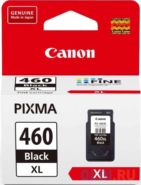 Картридж Canon PG-460XL для Canon PIXMA MG5740 PIXMA MG6840 PIXMA MG7740 1500стр Черный 3710C001 картридж струйный canon cli 471y 0403c001 желтый для canon pixma mg5740 mg6840 mg7740