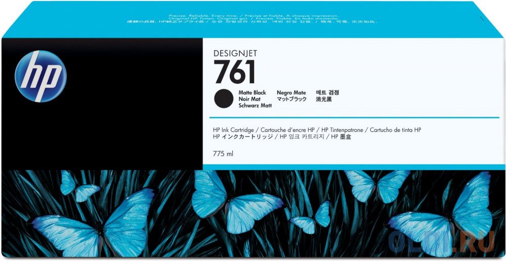 Картридж HP CM997A №761 для HP Designjet T7100 черный матовый обслуживающий картридж hp designjet 761 для hp designjet t7100 ch649a