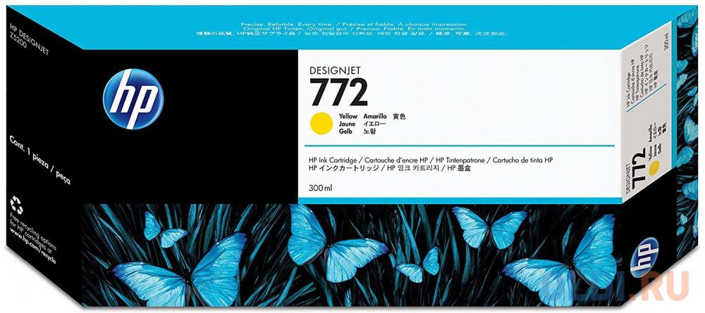 Картридж HP CN630A №772 для DJ Z5200 желтый картридж hp cn631a 772 для hp dj z5200 светло пурпурный