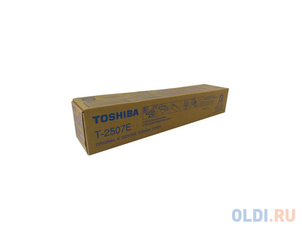 Тонер-картридж Toshiba T-2507E для e-STUDIO2006/2506/2007/2507 черный 12000стр 6AG00005086
