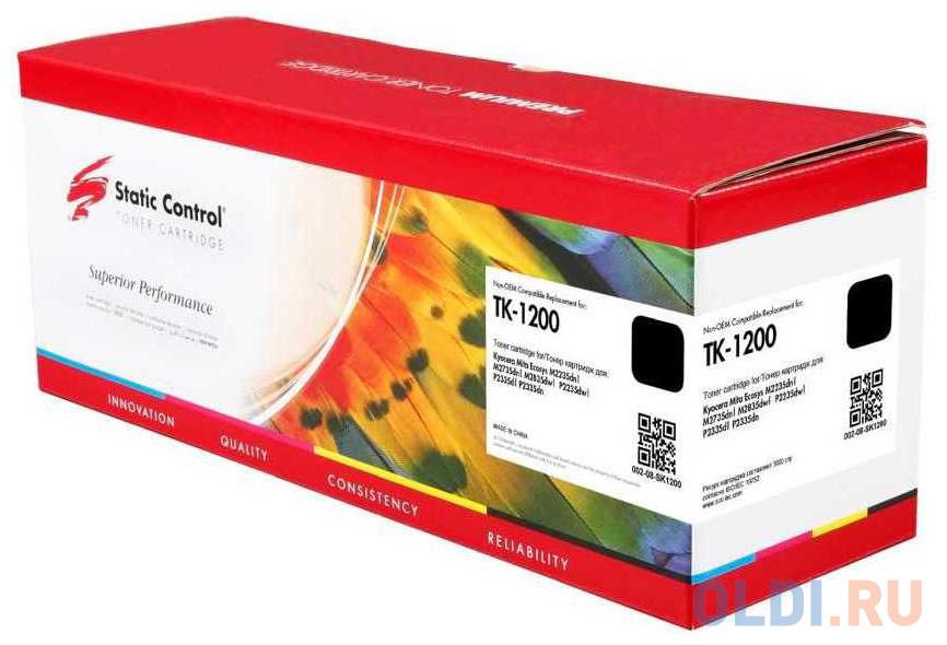 Картридж Static Control TK-1200 для Kyocera ECOSYS P2335d ECOSYS P2335dw ECOSYS P2335dn 3000стр Черный фото