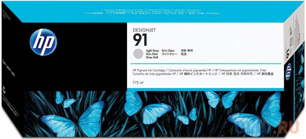 Фото - Картридж HP C9466A №91 для HP DJ Z6100 серый картридж hp c9485a 91 для hp dj z6100 желтый 3шт
