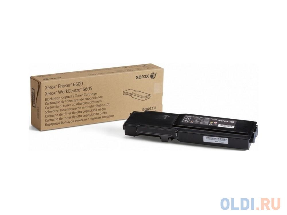 Тонер-Картридж Xerox 106R02236 для P6600/WC 6605 черный