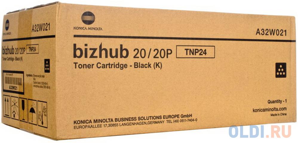 Фото - Картридж Konica Minolta TNP-24 для bizhub 20/20p черный 8000стр teresia 1650 20p