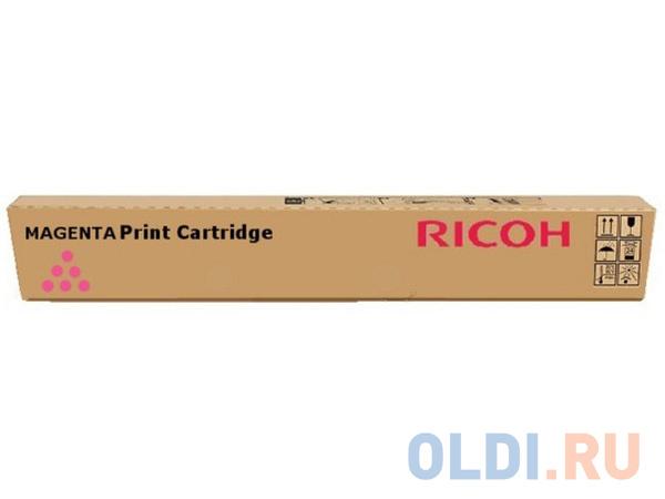 Тонер-картридж Ricoh MPC3501E/MPC3300E для Ricoh Aficio MPC3001/C3501/MPC2800/C3300 пурпурный 16000стр.