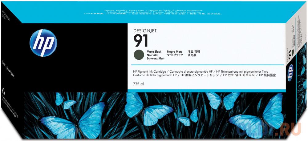 Фото - Картридж HP C9464A №91 для HP DJ Z6100 черный матовый картридж hp c9485a 91 для hp dj z6100 желтый 3шт
