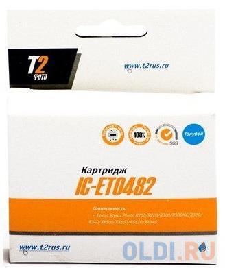 Картридж T2 IC-ET0482 430стр Голубой