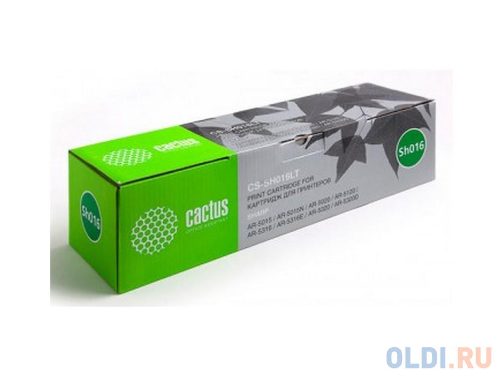 Картридж Cactus CS-SH016LT для Sharp AR-5015/5015N/5020/5120/5316 черный 16000стр
