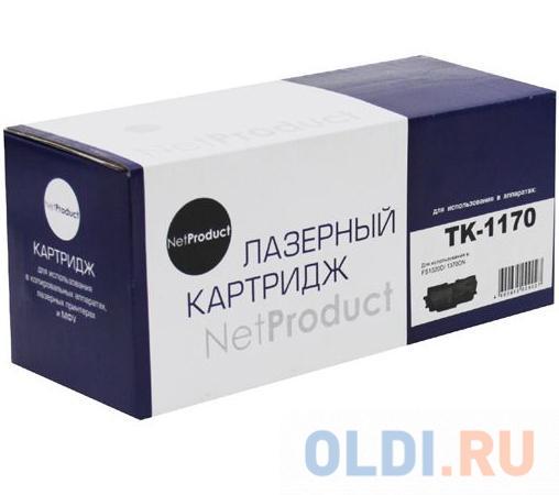 Картридж NetProduct TK-1170 7200стр Черный
