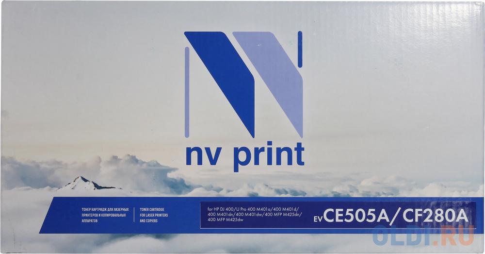 Картридж NV-Print CF280A CF280A CF280A CF280A 2300стр Черный