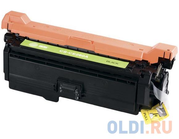 Картридж Cactus CS-CE260AV для HP LJ CP4025/CP4525/CM4540 черный 8500стр картридж лазерный cactus cs ce263av пурпурный 11000стр для hp lj cp4025 cp4525