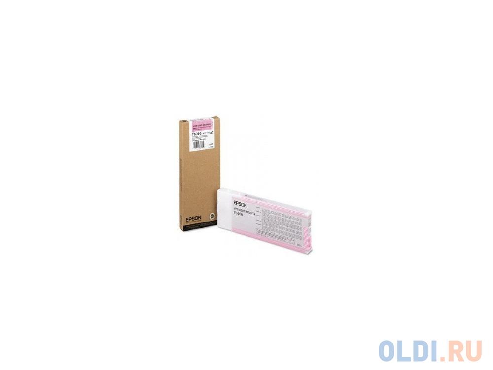 Картридж Original Epson [C13T606600] для Epson Stylus Pro 4880 (220 мл) Vivid Light Magenta недорого
