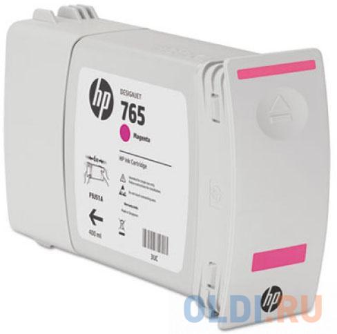 Картридж HP F9J51A №765 для HP Designjet T7200 пурпурный 400мл картридж hp 765 желтый [f9j50a]