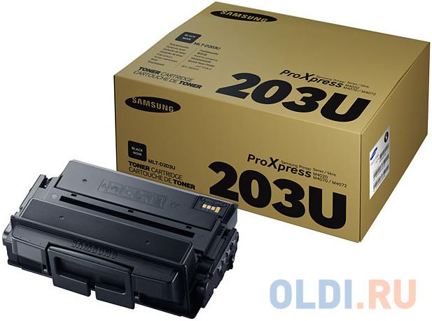 Картридж Samsung SU917A MLT-D203U для Samsung SL-M4020/4070 черный 15000стр фото