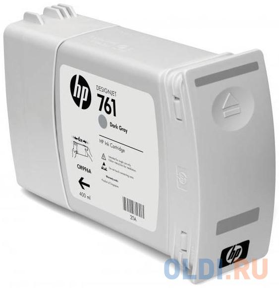 Картридж HP CM996A №761 для HP Designjet T7100 темно-серый обслуживающий картридж hp designjet 761 для hp designjet t7100 ch649a