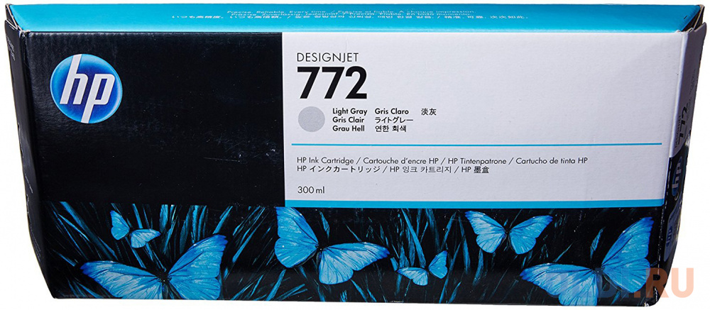 Картридж HP CN634A №772 для HP DJ Z5200 светло-серый картридж hp cn631a 772 для hp dj z5200 светло пурпурный