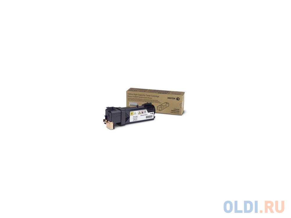 Тонер-Картридж Xerox 106R01458 для Phaser 6128 MFP желтый 2500стр