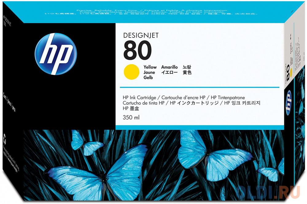Картридж HP C4848A для HP DesignJet 1050C DesignJet 1055CM Designjet 1055cm Plu Designjet 1050C Plus 4400стр Желтый