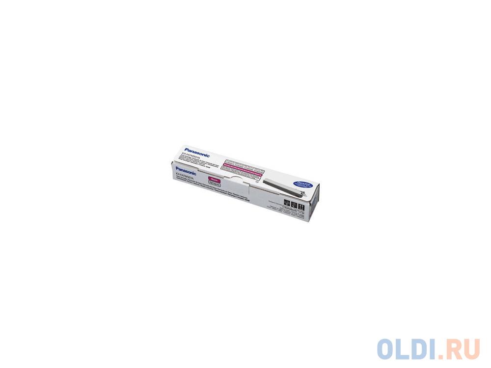 Тонер-картридж Panasonic KX-FATM507A7 для KX-MC6020RU пурпурный 4000стр