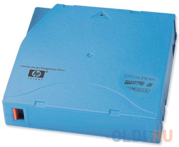 Ленточный носитель HP LTO-5 Ultrium 3TB RW Data Cartridge C7975A ленточный накопитель hpe msl lto 7 fc drive upgrade kit n7p36a