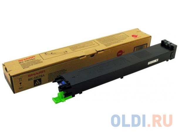 Тонер-картридж Sharp MX31GTBA черный 18 000 страниц
