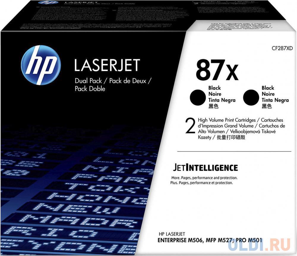 Тонер-картридж HP 87X (CF287X) 36000стр Черный