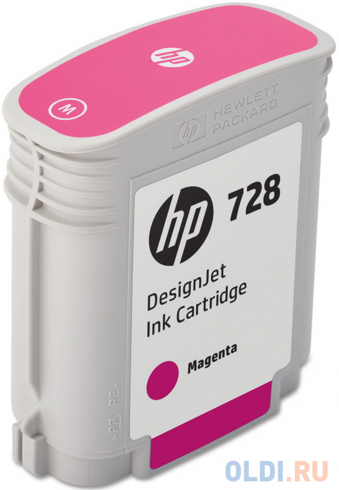Картридж HP 728 F9J62A для HP DesignJet пурпурный фото