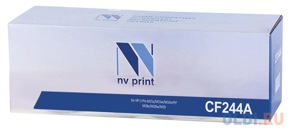 Картридж NV-Print CF244A для HP LaserJet Pro M15a LaserJet Pro M15w Laser Jet m28a Pro MFP LaserJet m28nw Pro MFP 1000стр Черный original board formatter board for hp laserjet pro mfp m127 m128 m127fn m128fn cz183 60001 print parts