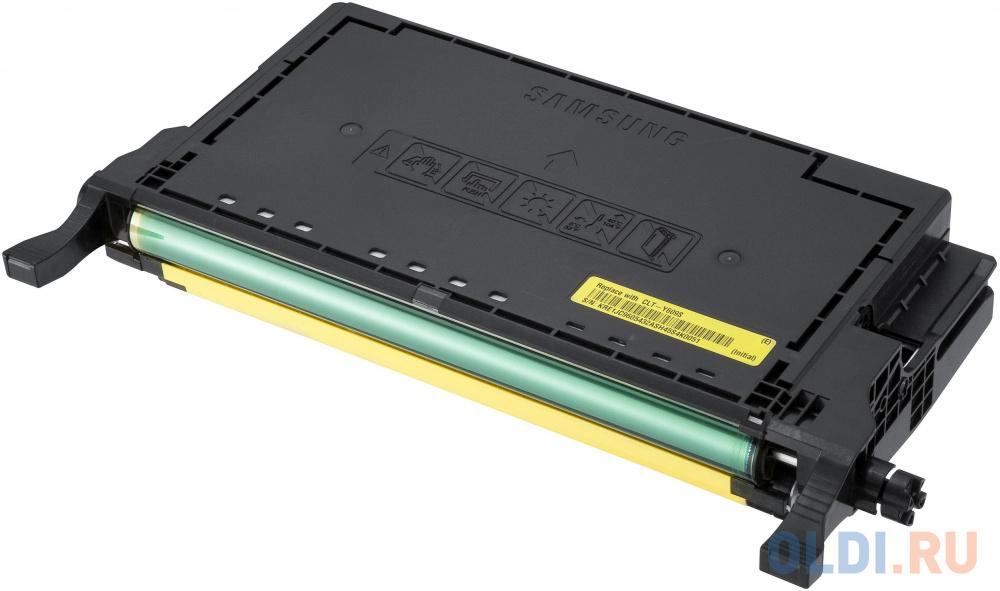 Картридж Samsung SU563A CLT-Y609S для CLP-770ND желтый