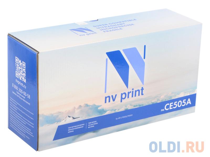 Картридж NV-Print CE505A для HP LJ 2050 картридж nv print c4192a для hp