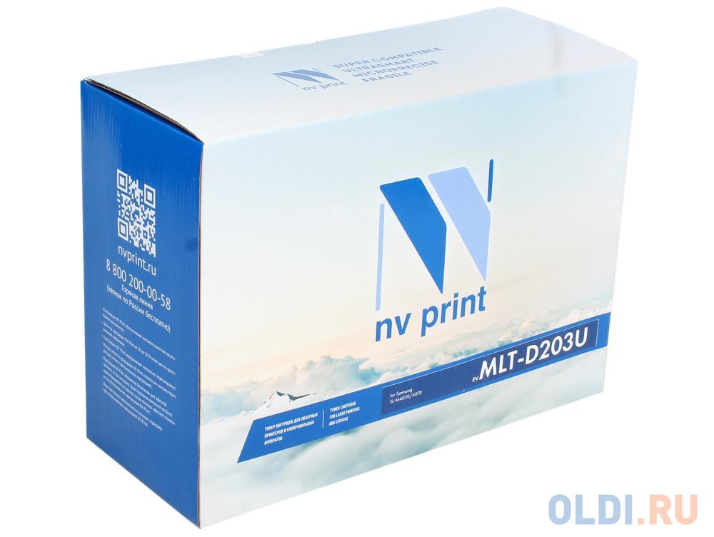 Картридж NV-Print совместимый Samsung MLT-D203U для SL-M3820/3870/4020/4070. Чёрный. 15 000 страниц.