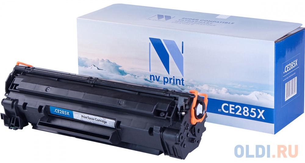 Фото - Картридж NV-Print CE285X 2500стр Черный картридж nv print cs tk160 2500стр черный