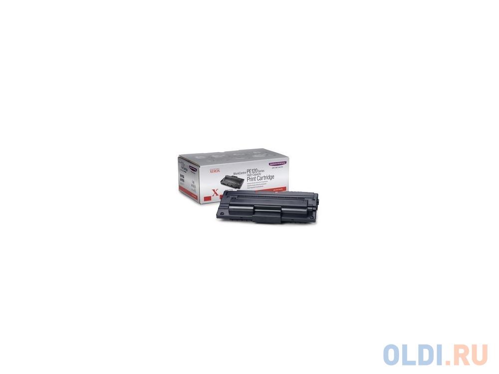 Тонер-Картридж Xerox 013R00606 для WC PE120/120i черный 5000стр