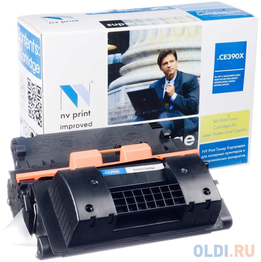 Картридж NV-Print CE390X для HP LaserJet M4555MFP картридж nv print c4192a для hp