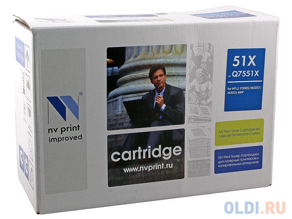 Картридж NV-Print Q7551X для HP LJ P3005/M3027 картридж nv print c4192a для hp