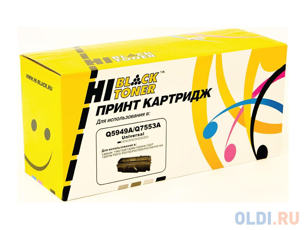 Картридж Hi-Black Q5949A Q5949A Q5949A Q5949A Q5949A 3500стр Черный