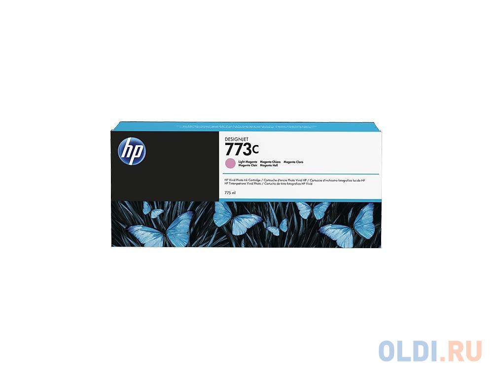 Фото - Картридж HP C1Q41A для DesignJet Z6600/Z6800 светло-пурпурный 775мл картридж струйный hp 773c c1q41a светло пурпурный