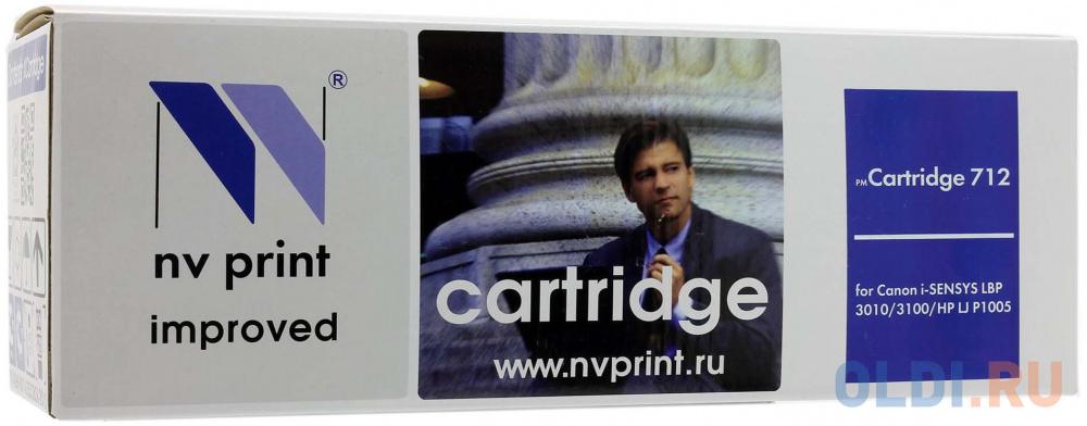 Картридж NV-Print Cartridge 712 Cartridge 712 Cartridge 712 1500стр Черный
