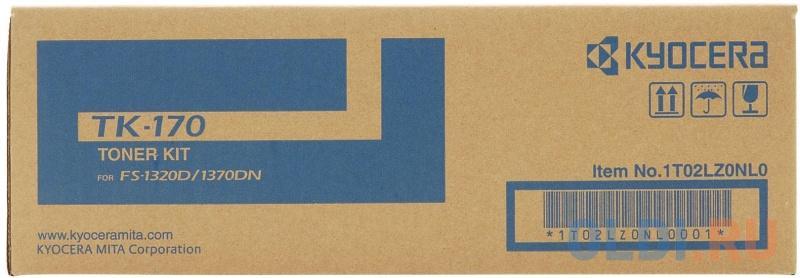 Тонер-картридж Bion TK-170 для Kyocera FS-1320D FS-1370DN 7200стр Черный