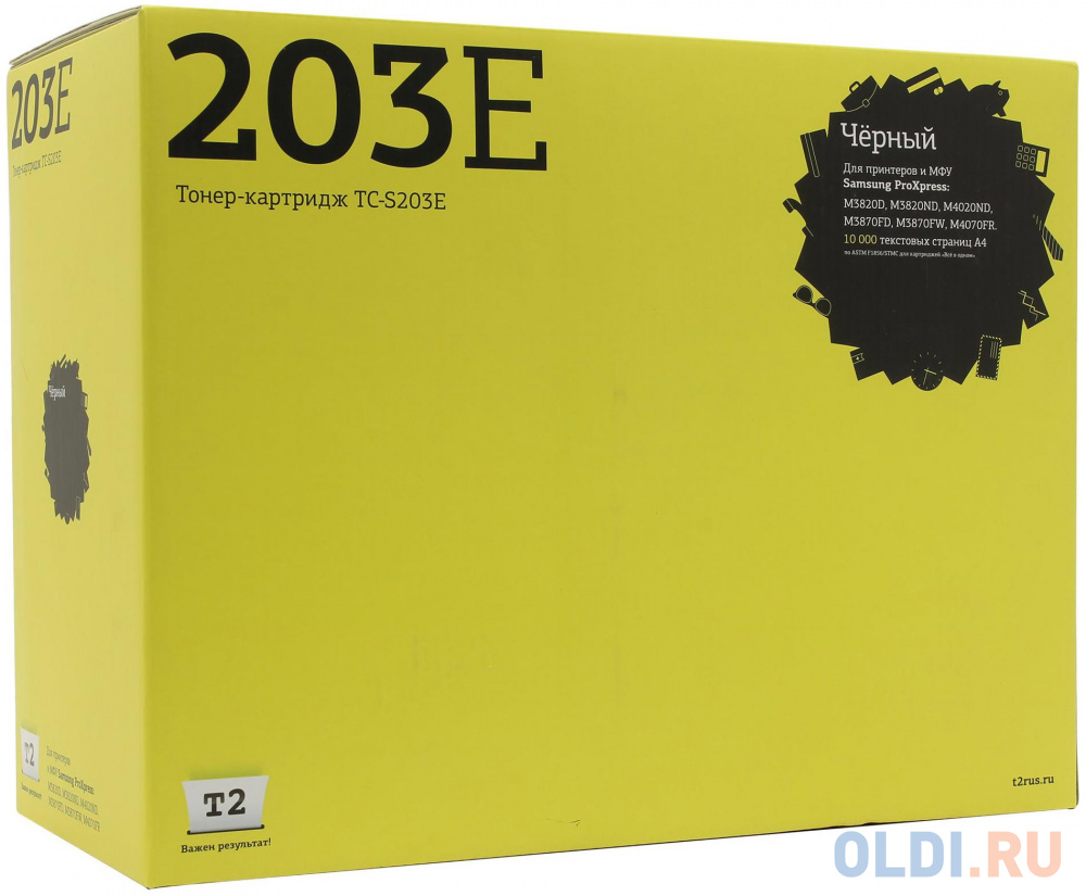Картридж T2 TC-S203E для Samsung MLT-D203E ProXpress M3820D/M4020ND/M3870FD/M4070FR черный 10000стр картридж t2 tc s203e совместимый