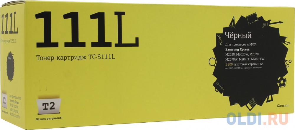 Картридж T2 MLT-D111L 1800стр Черный