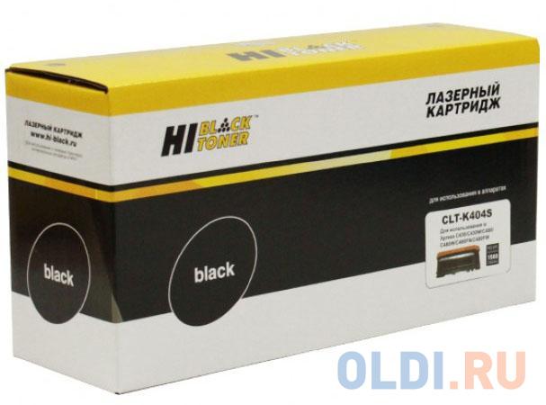 Картридж Hi-Black CLT-K404S для Samsung Xpress SL-C430/C430W/C480/C480W/C480FW черный 1500стр