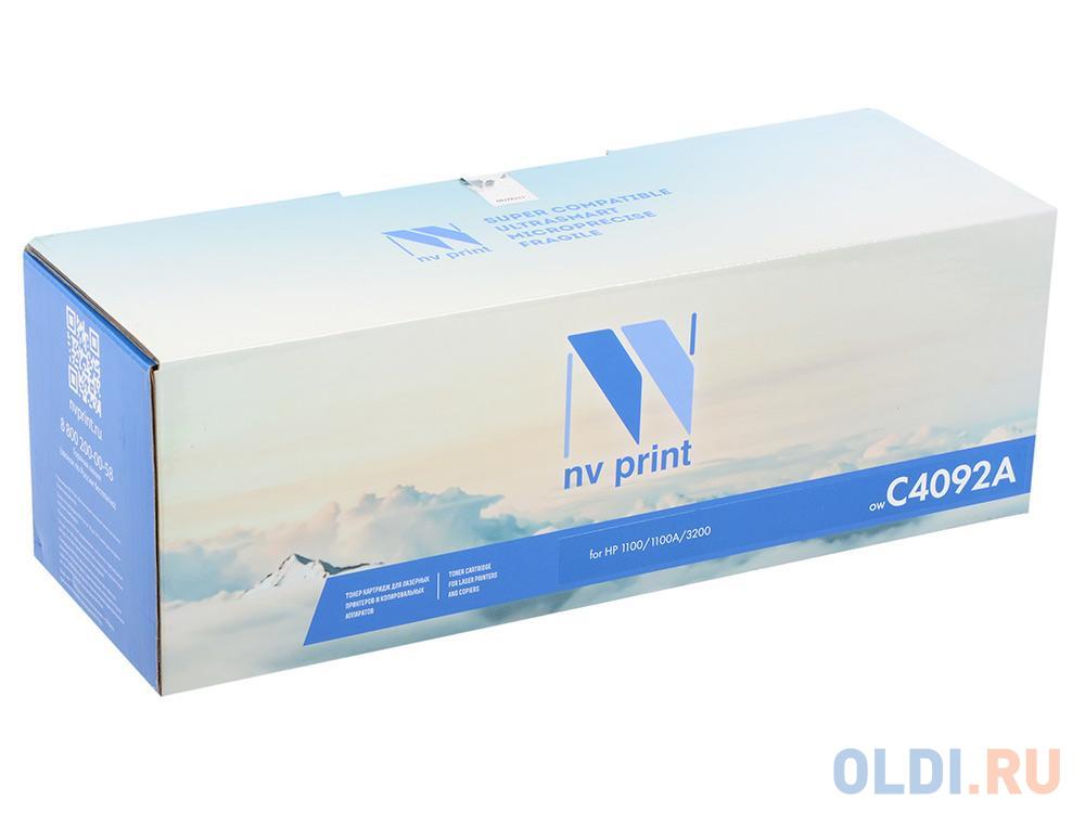 Фото - Картридж NV-Print C4092A 2500стр Черный картридж nv print cs tk160 2500стр черный