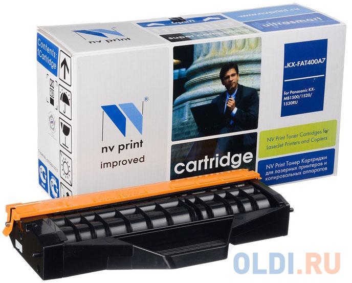 Фото - Картридж NV-Print KX-FAT400A7 для Panasonic KX-MB1500RU/1520RU/1530RU/1536RU черный 1800стр картридж nv print kx fat400a7 для panasonic kx mb1500 1520 1530 1536rub
