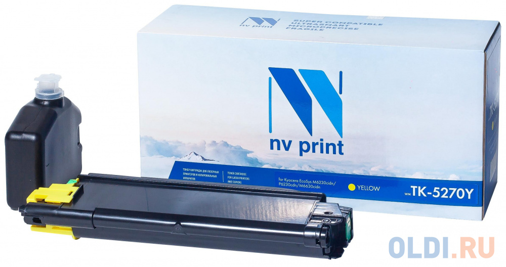 Тонер-картридж NV-Print CS-EPS188 6000стр Желтый картридж nv print ce402a 6000стр желтый