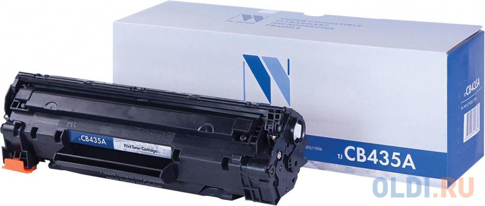 Картридж NV-Print NV-CB435A/CB436A 2000стр Черный